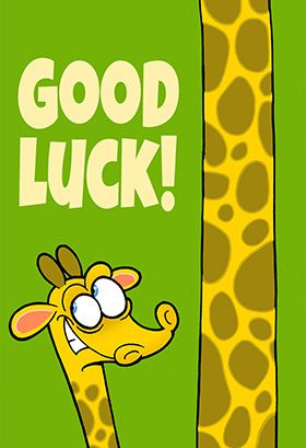 Nerdy image throughout free printable good luck cards