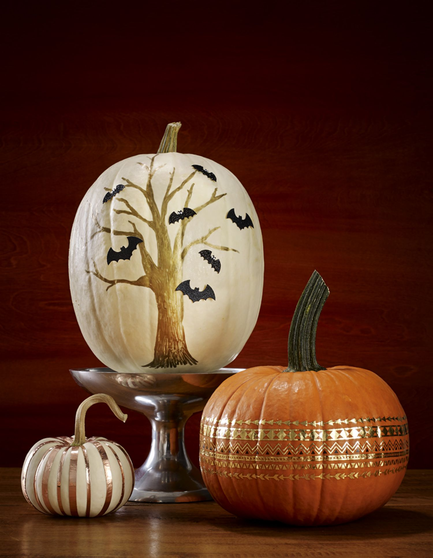 These No Carve Pumpkins Give You All The Halloween Vibes Without The Mess Creative Halloween Decorations Pumpkin Decorating Creative Pumpkin Decorating