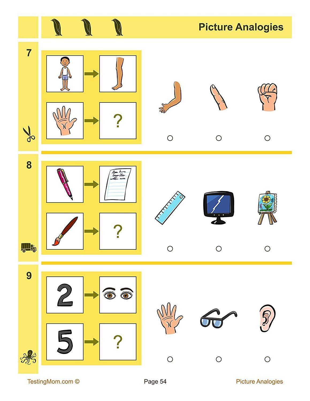 Pin On Cogat Practice Kindergarten