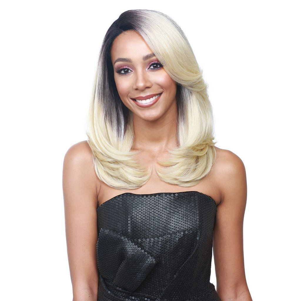 Bobbi boss premium synthetic swiss lace front wig mlf claudia