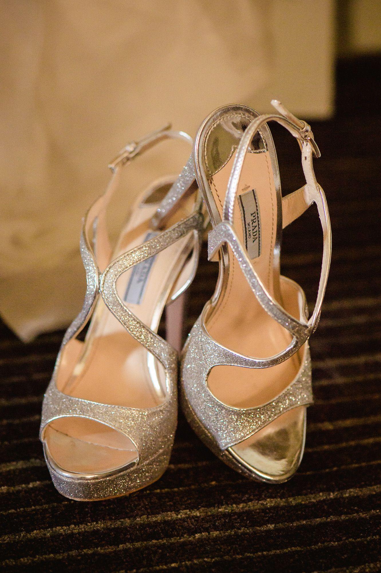 Inside Weddings White winter wedding, Wedding shoes