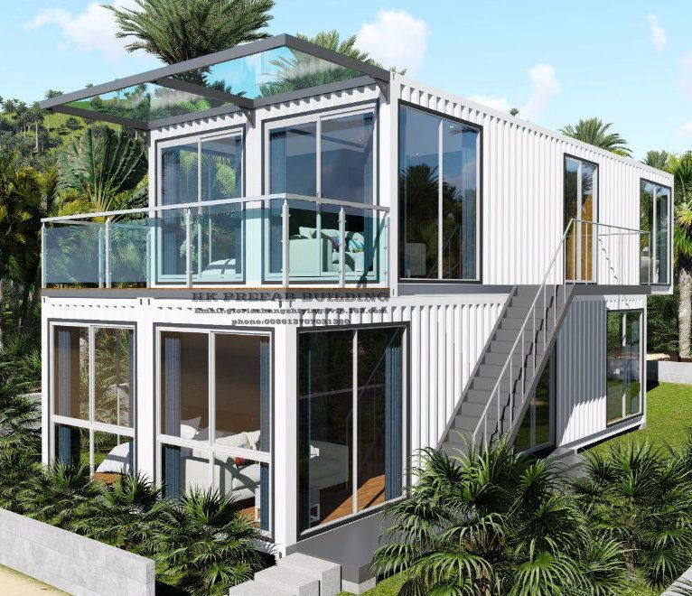Container Home Design Ideas: Neazealand Standard Luxury Modular Prefabricated Container