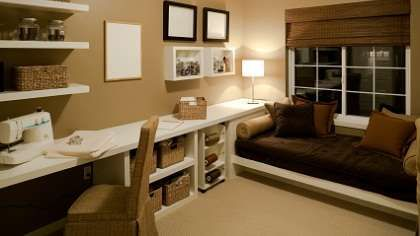 Image result for bedroom into office