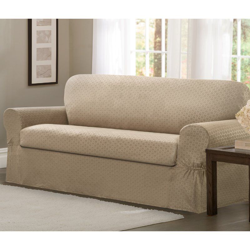 Box Cushion Sofa Slipcover Slipcovers Loveseat Slipcovers