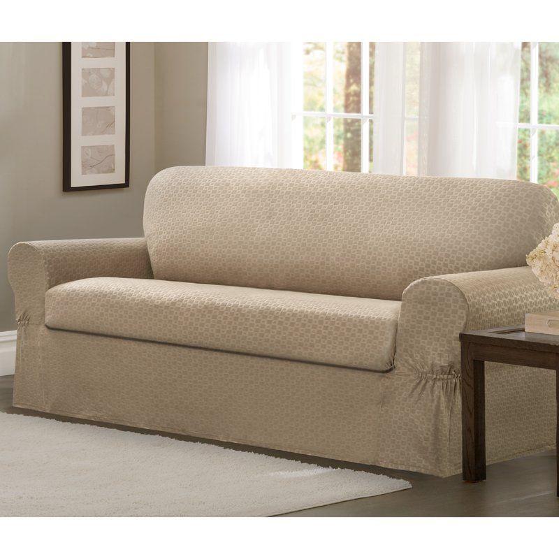 Incroyable Darby Home Co 2 Piece Sofa Slipcover Set U0026 Reviews | Wayfair
