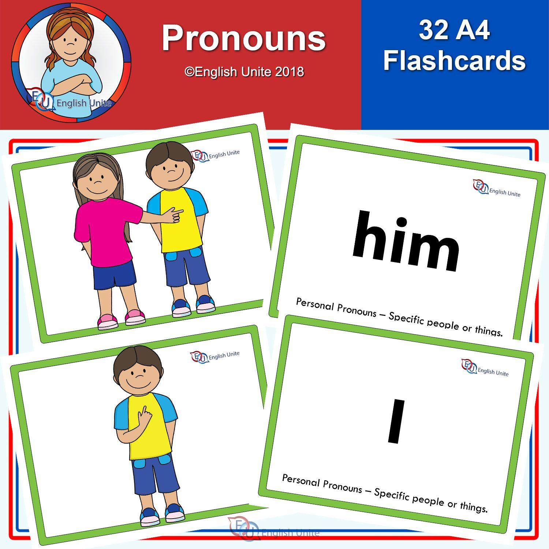 Flashcards A4 Pronouns