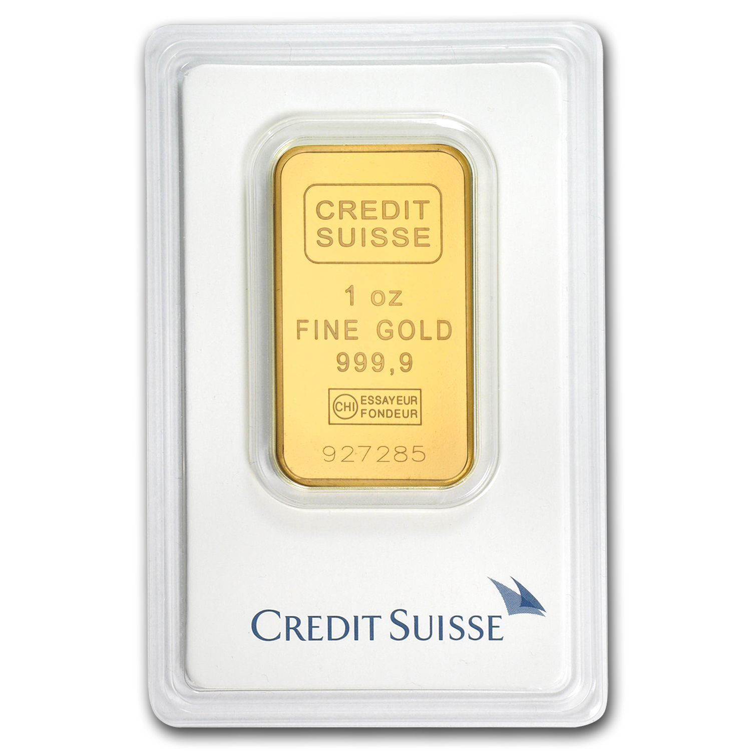 800 311 8902 1 Oz Credit Suisse Gold Bar 9999 Fine In Assay Card Product Description Protect Your Wealth By Inv Credit Suisse Gold Bullion Bars Gold Bullion