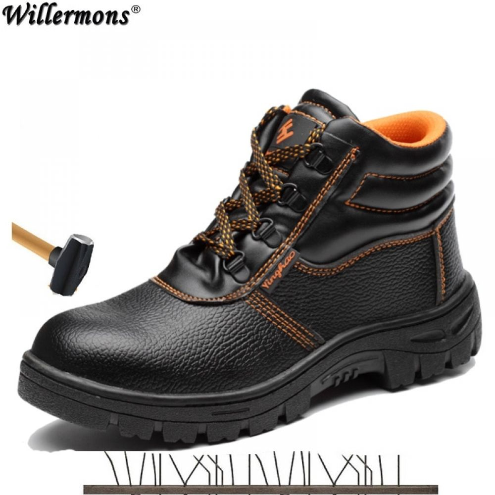 Steel toe boots, Ankle boots men