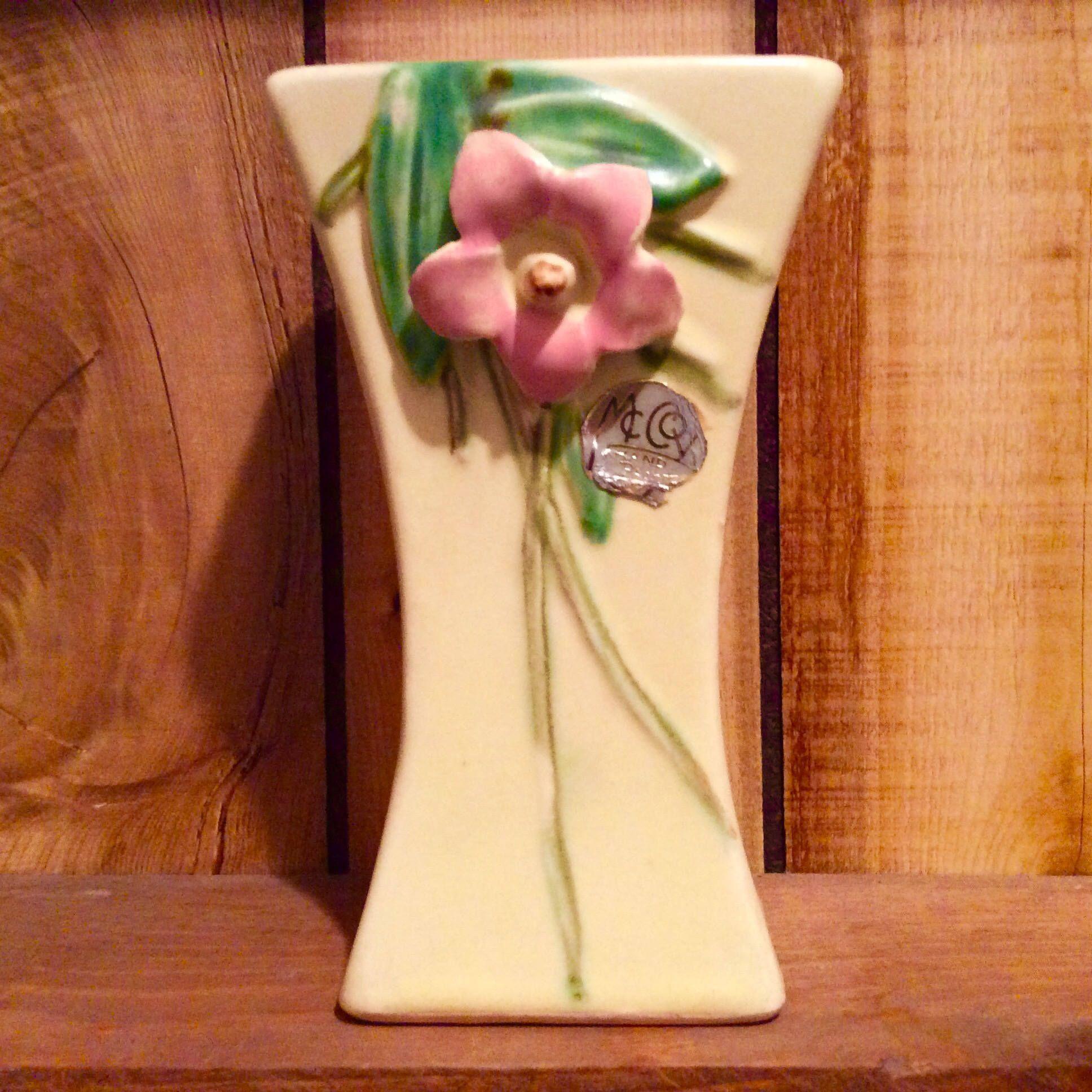 Vintage mccoy blossom time matt yellow vase mccoy pottery paper vintage mccoy blossom time matt yellow vase mccoy pottery paper label by bellesgirl on etsy reviewsmspy