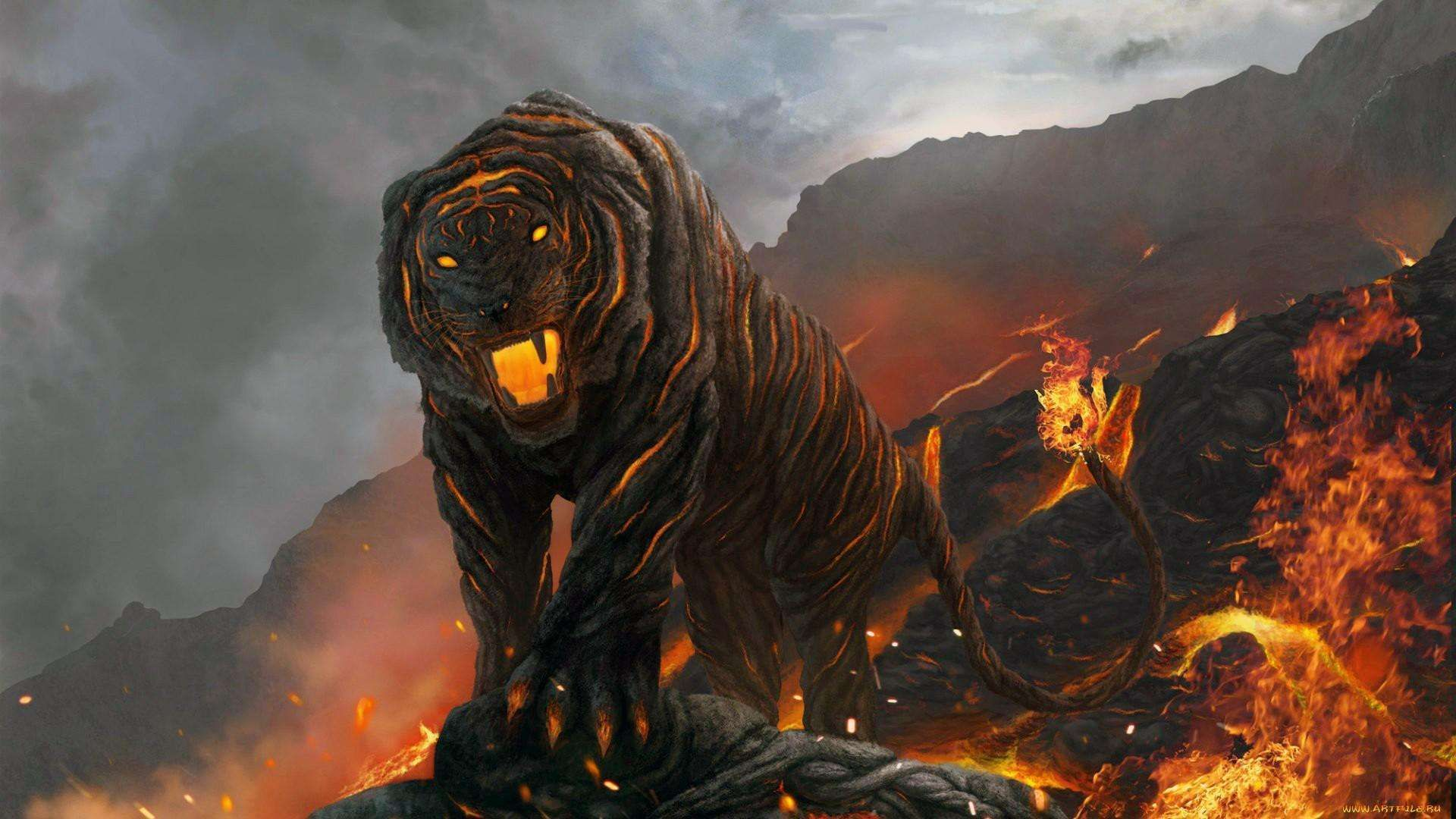 angry tiger 3d hd wallpaper 1080p fondos pinterest