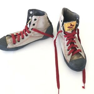 competitive price 95190 6394d Extremely Rare Vintage Converse Mountain Club Rockclimbing CMC3000 Hi-Top  Shoes   eBay