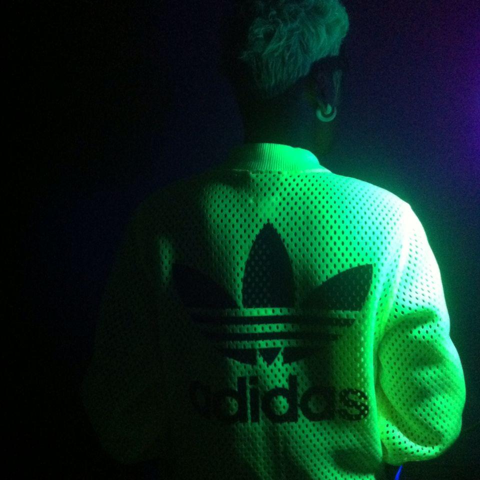 adidas glow in the dark jacket