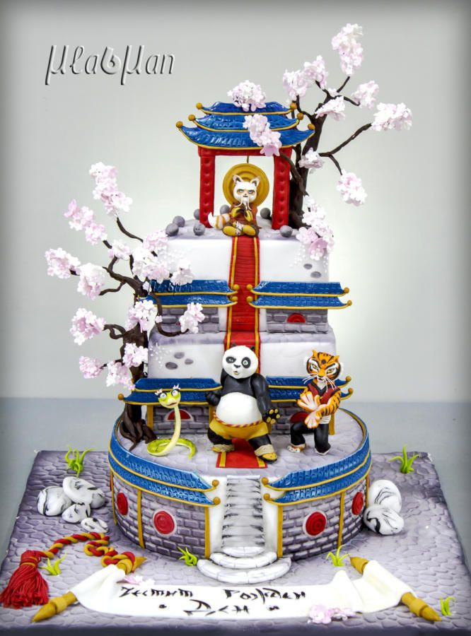 Kung Fu Panda Cake By Mladman Cakes Cake Decorating Daily