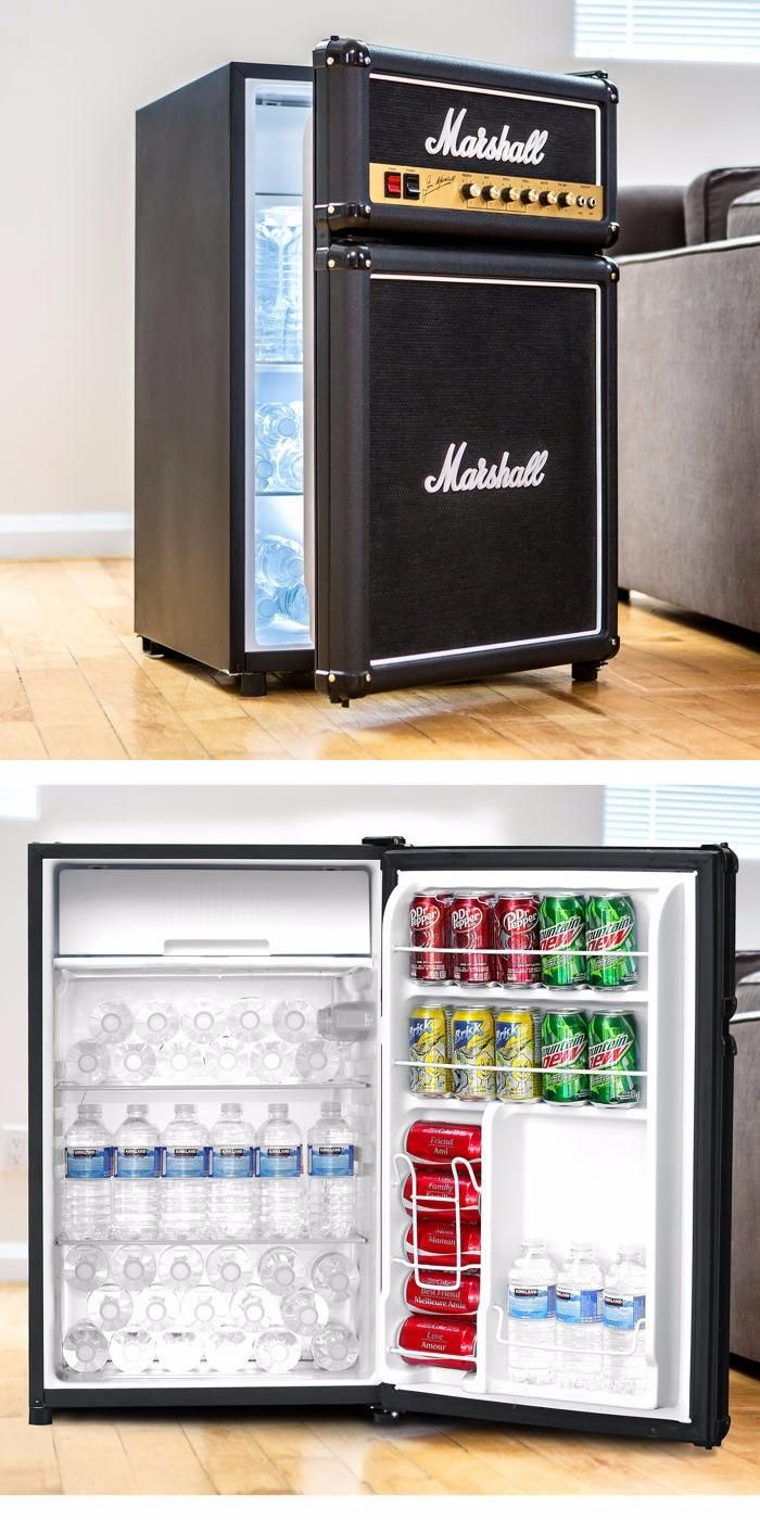 Home for the home marshall fridge - The Marshall Fridge Is A Must Have Piece Of Rock And Roll History And One That Music Aficionados Will Be Proud To Showcase In Their Homes Caves Dens