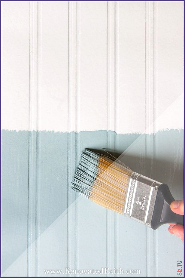How To Hang Beadboard Wallpaper Why It S Better Than The Real Thing How To Hang Beadboard Wallpaper Why It S Beadboard Wallpaper Beadboard Accent Wall Designs