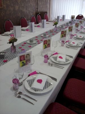 idee decoration de table pour communion fille 2