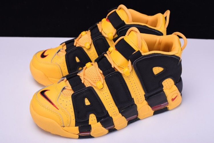 wholesale dealer 8a1bf b20a8 Nike-Air-More-Uptempo-Bruce-Lee-Kill-Bill-Yellow-Black-2