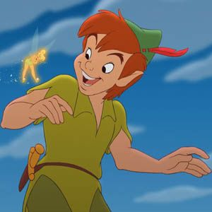 Day 22: If you could bring one character to life from a children's movie, who would it be? Peter Pan.