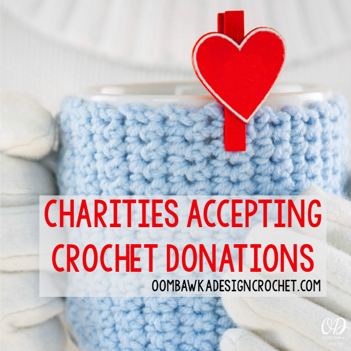 Crochet charity directory crochet service projects and for Crafts to donate to charity