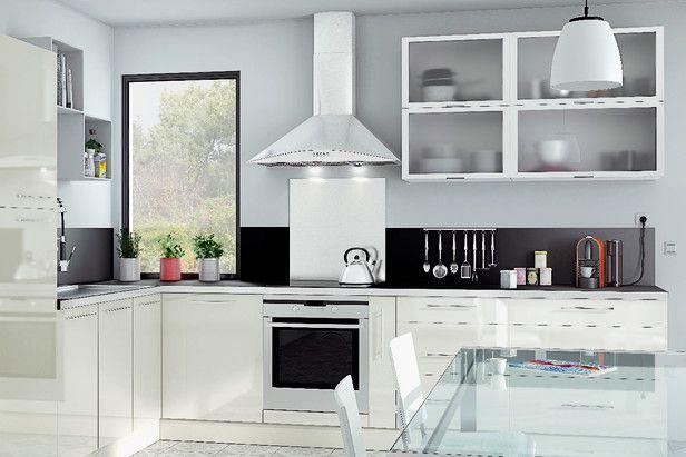 Cuisine Modele Luna Pour Un Espace Epuree Et Plein De Clarte Avec Images Cuisine Brico Depot Cuisine Blanche Cuisine Modele