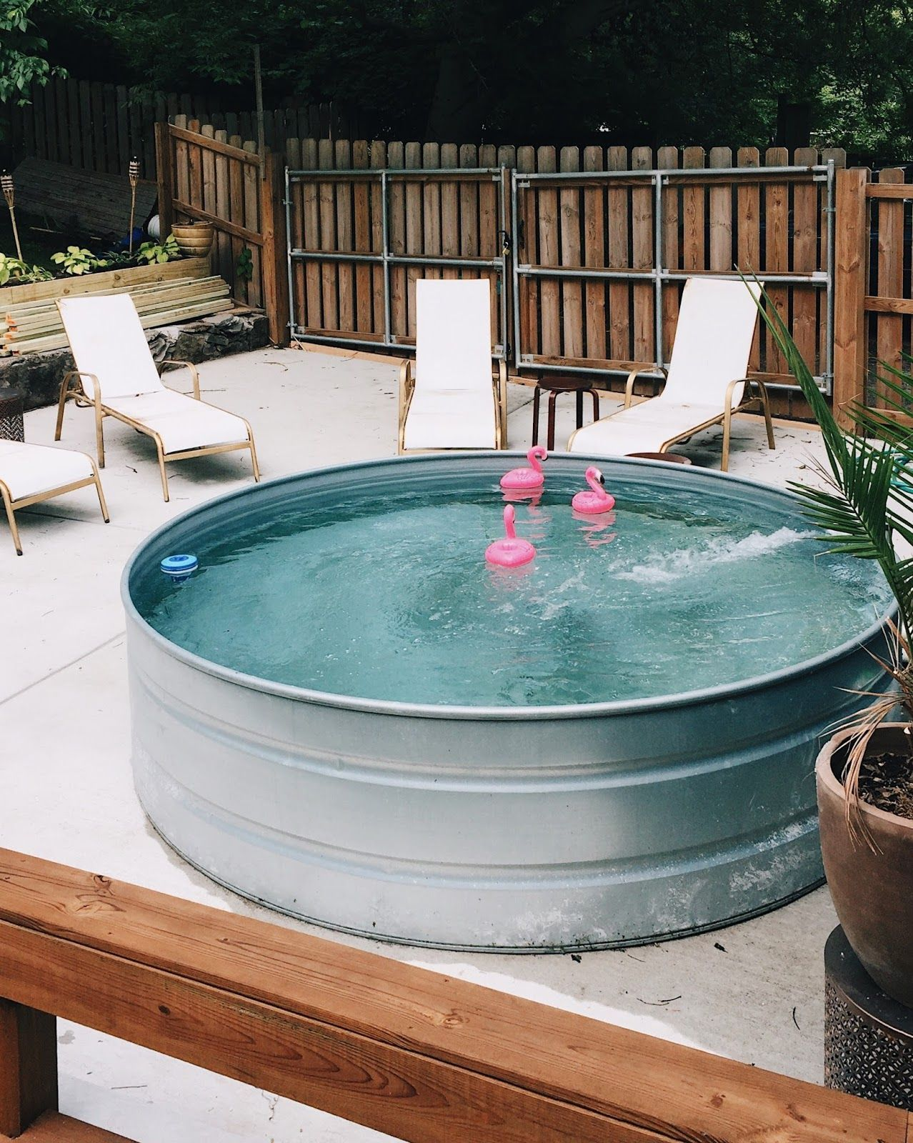 How To Make Your Own Stock Tank Pool This Summer | Stock ...