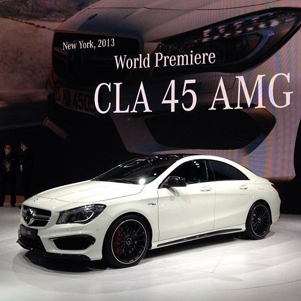 Mercedes Cla 45 Amg Car Of The Day 12 June 2015 Coches Y