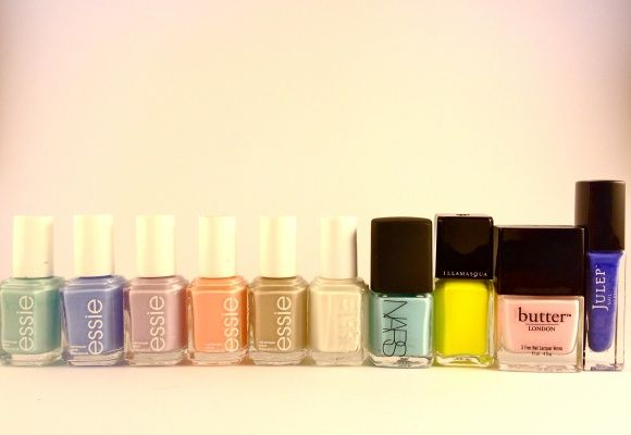 Top 10 Favorite Summer Nail Polishes (featuring Essie, NARS, Illamasqua, Butter London, and Julep)