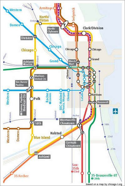 Chicago train lines for 2055 love it Cool Pictures Pinterest
