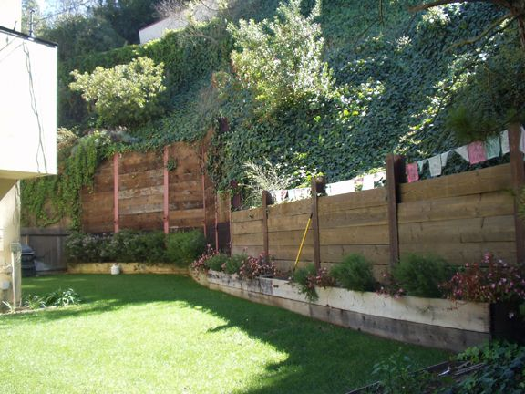 build wood retaining wall