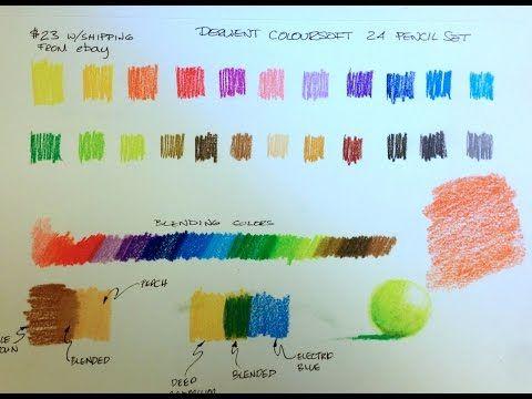 Derwent Coloursoft Pencil Review Derwent Colored Pencils