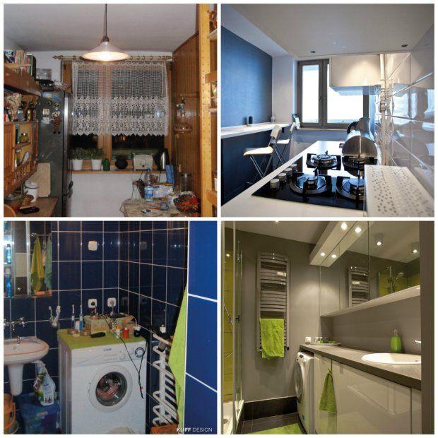 Metamorfoza Kuchni I Lazienki W Mieszkaniu W Bloku Home Home Decor Furniture