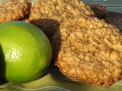 Key Lime and Coconut Cookies