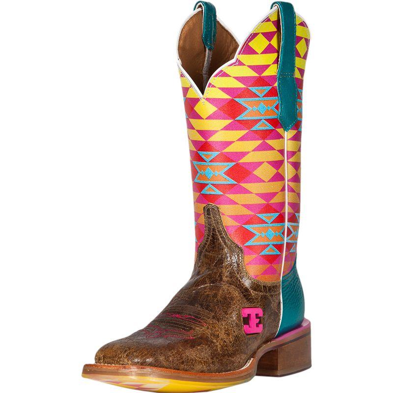 Women's Cinch Old El Paso Aztec Top Cowgirl Boots Item # CEW125