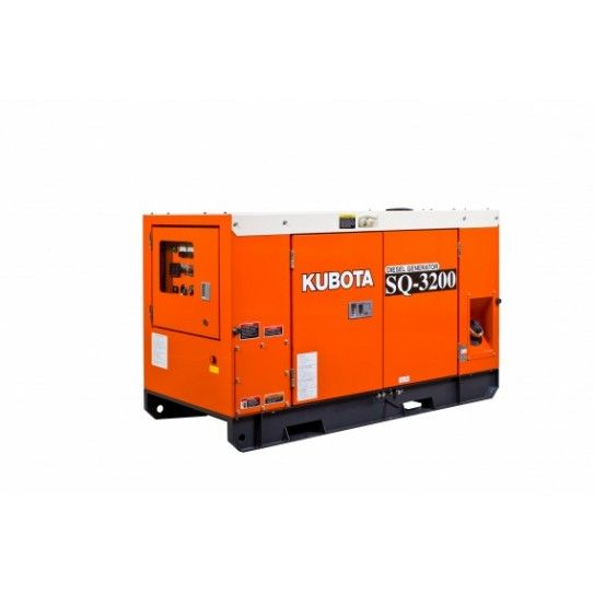 The Kubota Sq3140 15 4 Kva Diesel Generator Provide A Much Quieter Efficient And Long Service Life Generator Wher Diesel Generators Kubota Standby Generators