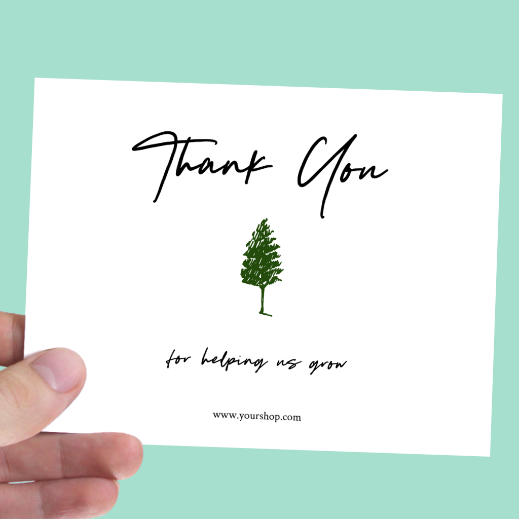 Custom Thank You Cards Packaging