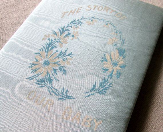 Vintage 1939 Baby Record Book, Unused Baby Book, The Story of Our Baby, 1930s Baby Keepsake Book, Milestone Book, Baby Journal, Shower Gift #babyrecordbook Vintage 1939 Baby Record Book, Unused Baby Book, The Story of Our Baby, 1930s Baby Keepsake Book, Milestone Book, Baby Journal, Shower Gift #babyrecordbook