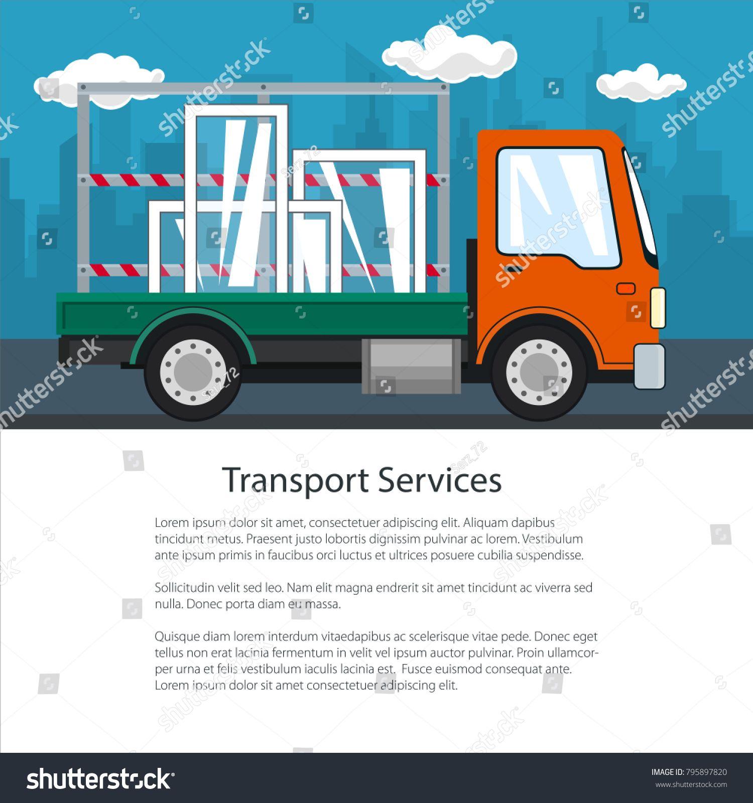 Brochure Of Lorry Small Truck Transports Windows Transportation