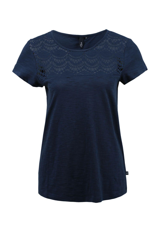 T Shirt Von S Oliver Entdecken Sie Jetzt Topaktuelle Mode Fur Damen Herren Und Kinder Online Und Bestellen Sie Versandkostenfre Shirts Hemd T Shirt