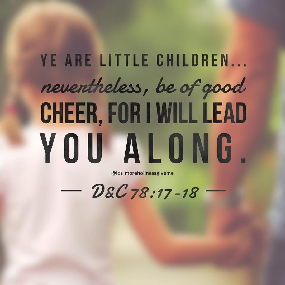 Ldsquotes Dandc Be Of Good Cheer Beautiful Blessings Pinterest