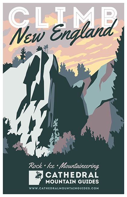 Vintage mountain poster design | Stationary Collateral Design ...