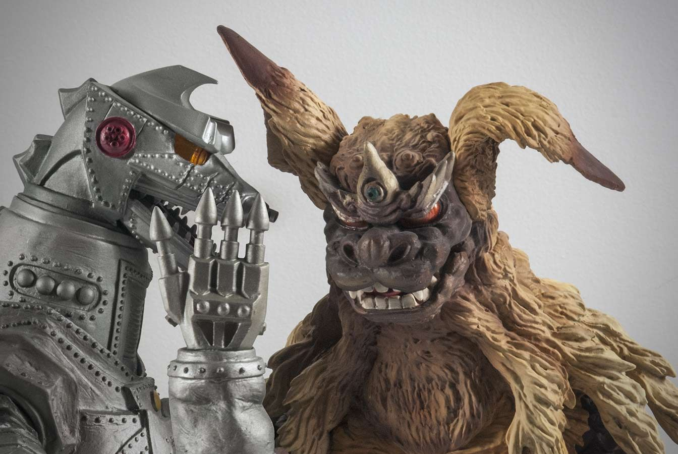 X Plus Mechagodzilla And King Caesar 1975 Godzilla Toys