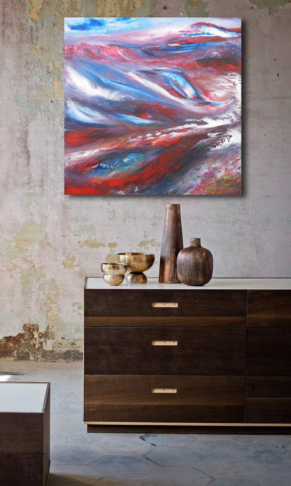 Misty  60x60 cm Original Abstract Paintings di DePalmaPainter