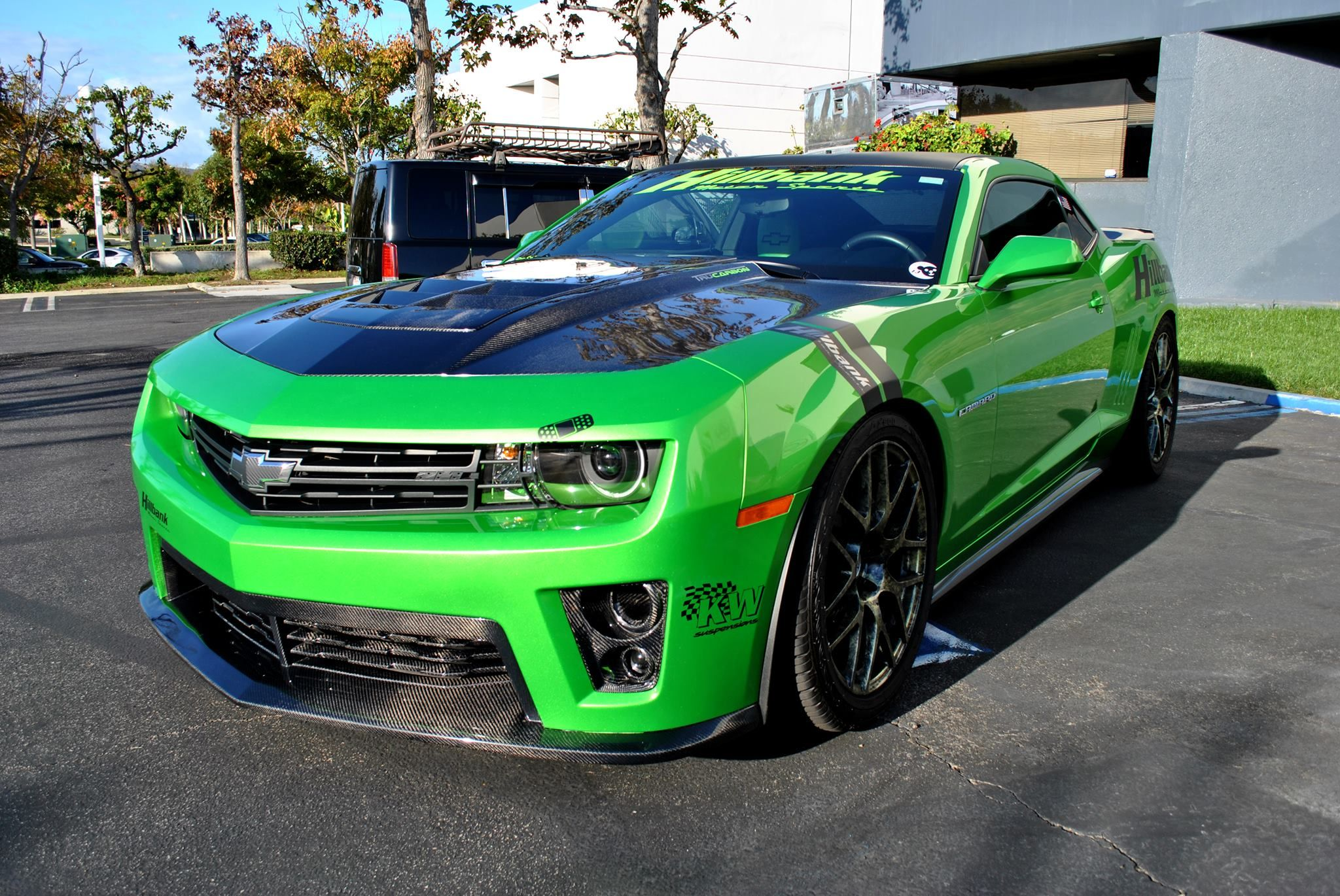 Synergy Green Supercharged For Sale Camaro5 Chevy Camaro