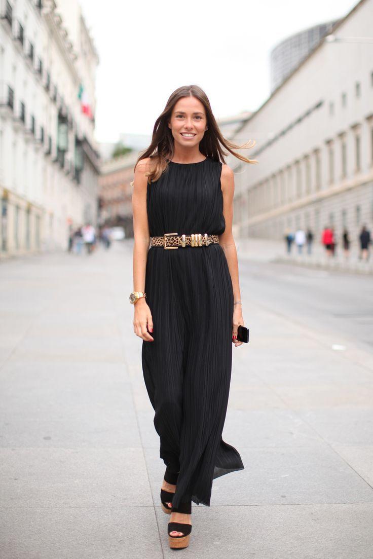 15 façons de porter la robe longue au printemps   Wants for my ... f3ec3061ce96