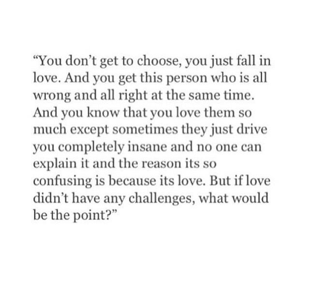 You don't choose who you fall in love with.