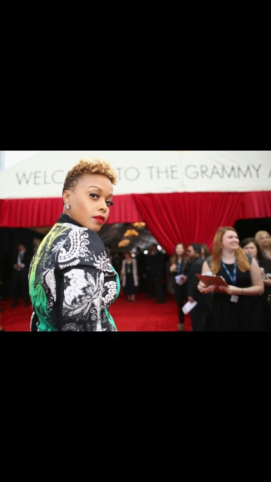 Chrisette Michele at the Grammys