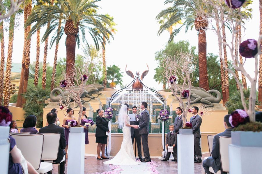 Wedding Ceremony At Four Seasons Las Vegas