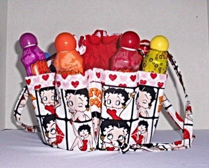 Betty Boop Bingo Bag Also Great For Craft Make Up Organizer By Oneofakinda On Etsy