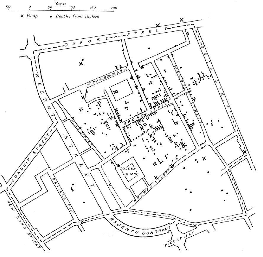 Snow Cholera Map