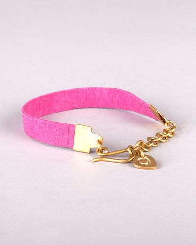The Pink Ekaswedi Bracelet by JewelMint.com, $40.00...i would..